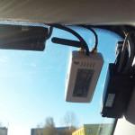 Пример использования в автомобилях такси